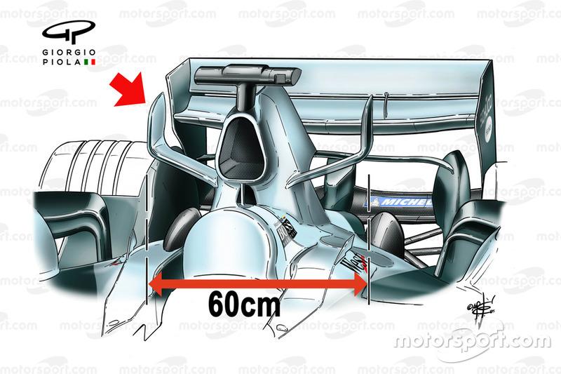 McLaren MP4-20 2005 airbox horns