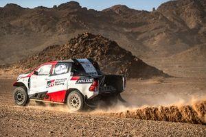 #205 Toyota Gazoo Racing Toyota Hilux: Fernando Alonso, Marc Coma