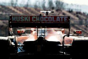 Car of Carlos Sainz, McLaren MCL35