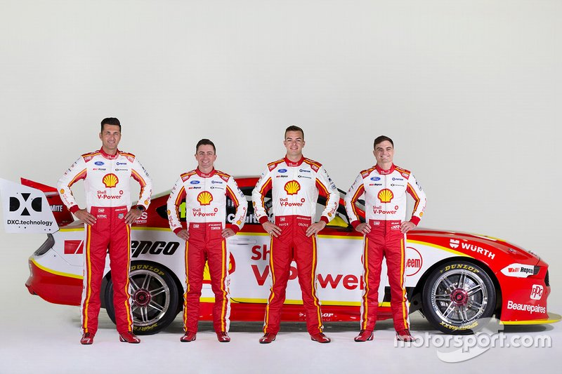 Scott McLaughlin, Fabian Coulthard, Tony D'Alberto, Tim Slade, DJR Team Penske