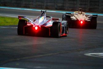 Antonio Felix da Costa, DS Techeetah, DS E-Tense FE20, Pascal Wehrlein, Mahindra Racing, M6Electro