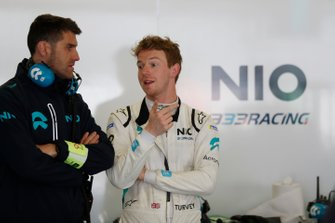 Oliver Turvey, NIO 333 in the garage