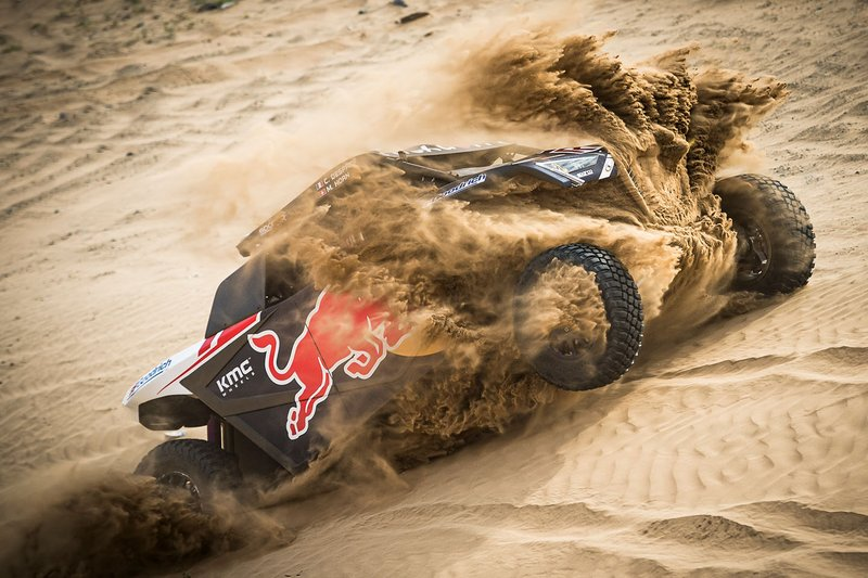 #403 Red Bull Off-Road Team USA OT3: Cyril Despre, Mike Horn