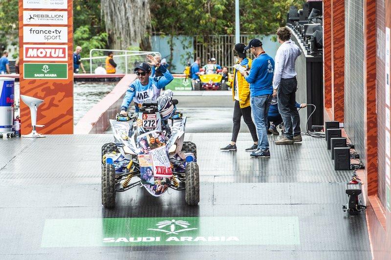 #272 Bennazar Quad Team Yamaha: Mariano Bennazar