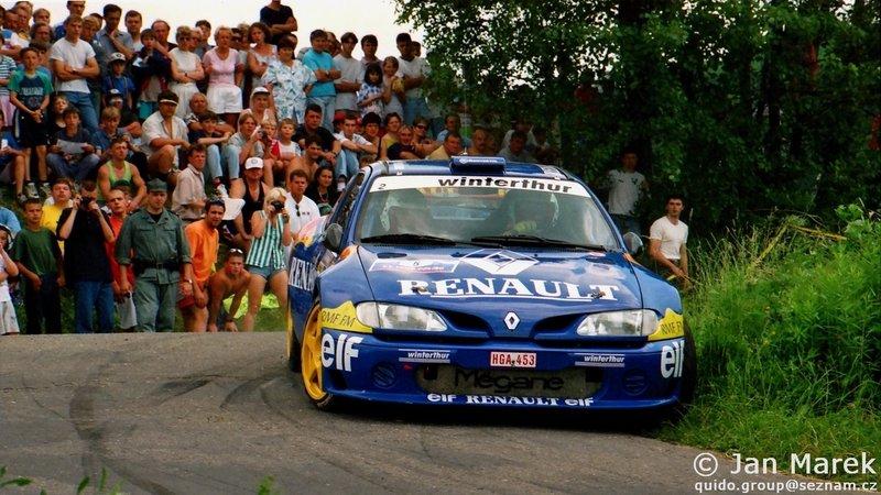 Janusz Kulig, Jarosław Baran, Renault Mégane Maxi, Rajd Polski 1998
