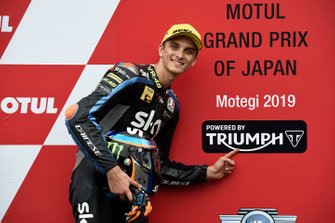 Pole position pour Luca Marini, Sky Racing Team VR46