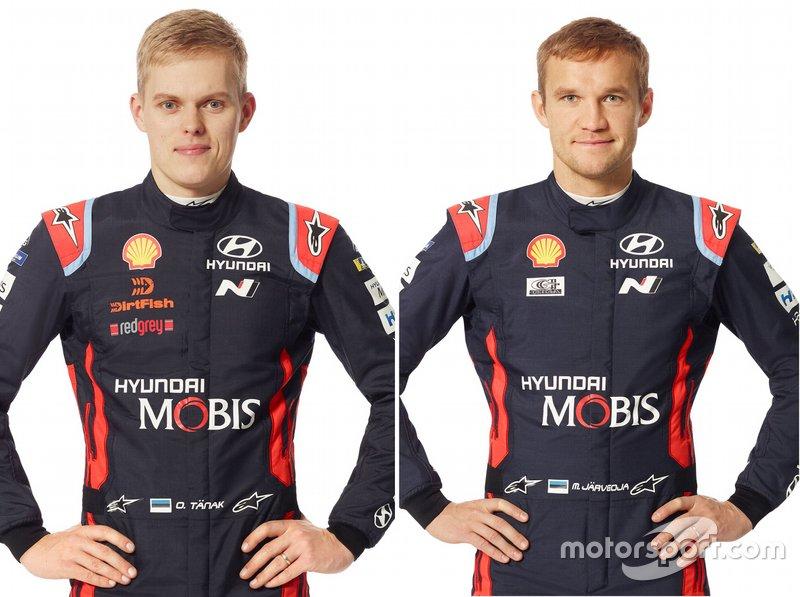 Ott Tanak, Martin Jarveoja, Hyundai Motorsport