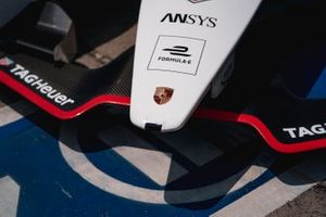Decal on the Porsche 99x Electric
