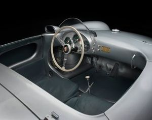 Cockpit de la Porsche 550 Spyder 1955
