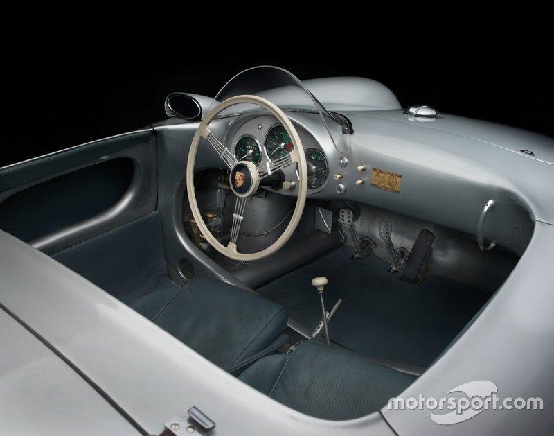 1955 Porsche 550 Spyder Cockpit