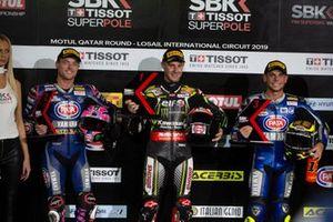 Alex Lowes, Pata Yamaha, Jonathan Rea, Kawasaki Racing Team, Sandro Cortese, GRT Yamaha WorldSBK
