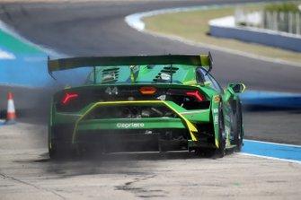 #44 Huracan Super Trofeo Evo, Imperiale Racing: Vito Postiglione, Kikko Galbiati
