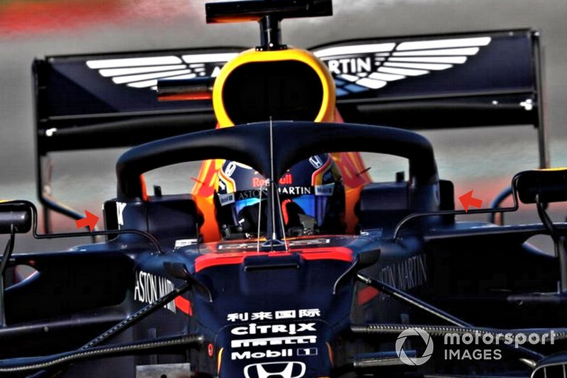 Halo de la Red Bull Racing RB16