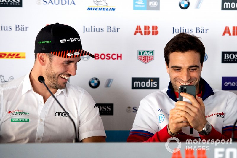 Daniel Abt, Audi Sport ABT Schaeffler, durante la conferenza stampa