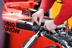 Ferrari SF1000 technical detail