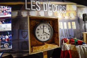 Aspectos de la exposición Le Mans 66