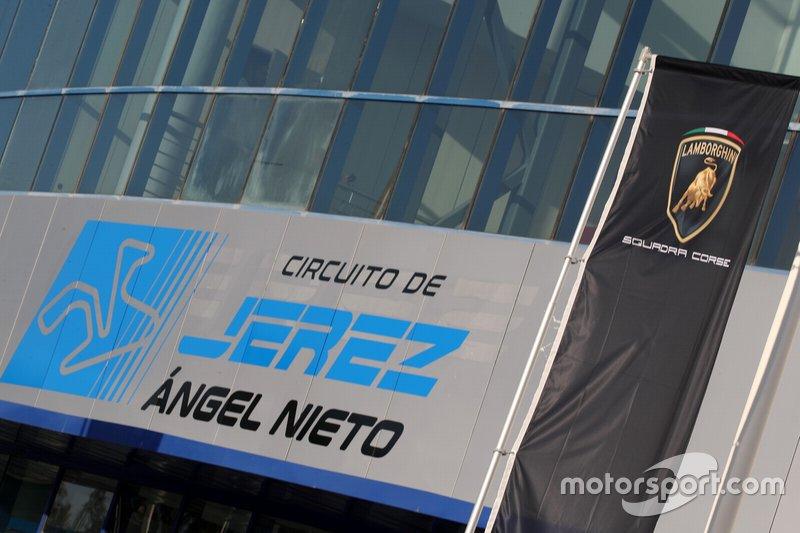 Edificio del circuito di Jerez