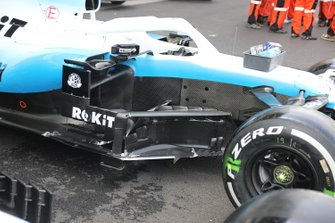 Williams Racing FW42, barge board