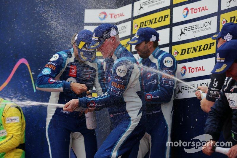 Podio: #6 360 Racing Ligier JS P3 Nissan: Terrence Woodward, James Dayson, Ross Kaiser