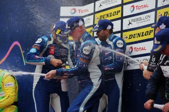 Podio: #6 360 Racing Ligier JS P3 Nissan: Terrence Woodward, James Dayson, Ross Kaiser