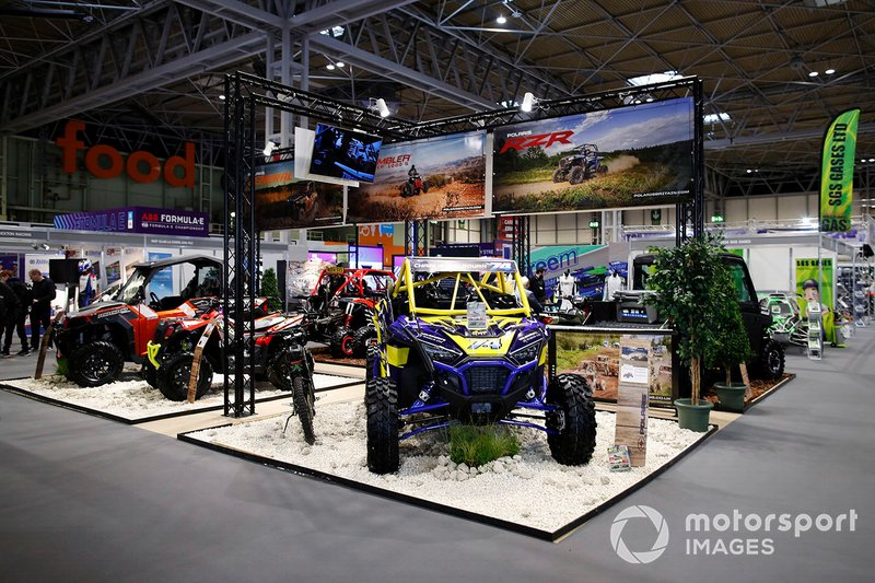 The Polaris stand at Autosport International 2020