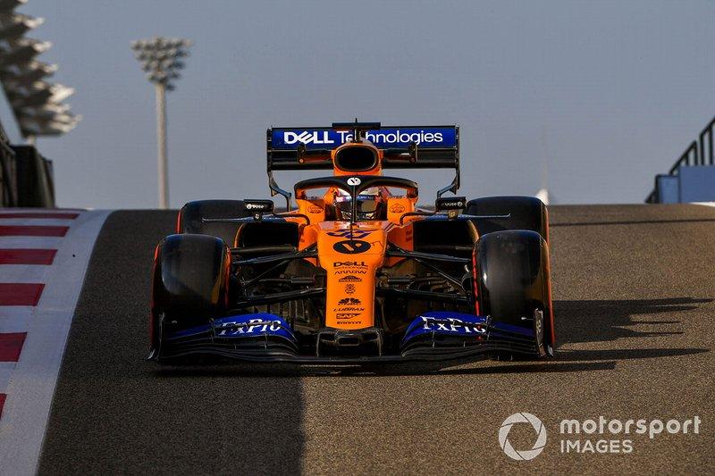 Carlos Sainz, McLaren MCL34 de 2019