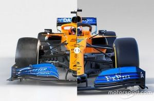 McLaren MCL35 vs. McLaren MCL34