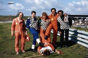 Marshals tijdens de Dutch Grand Prix