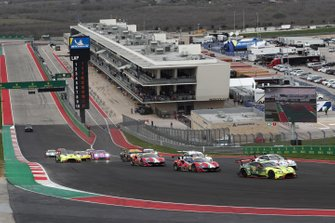 GTE-Start der WEC 2019/20 auf dem Circuit of The Americas in Austin