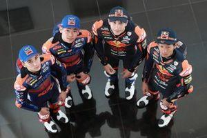 Deniz Oncu, Ayuma Sasaki, Raul Fernandez, Kaito Toba, Red Bull KTM Ajo