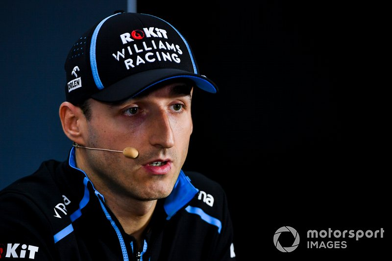 Robert Kubica - Konferencja prasowa