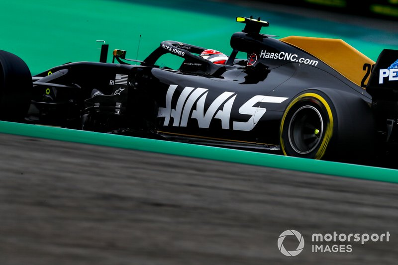 9: Kevin Magnussen, Haas F1 Team VF-19, 1'09.037
