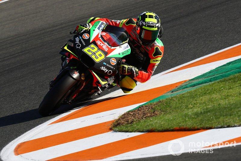 20 - Andrea Iannone, Aprilia Racing Team Gresini