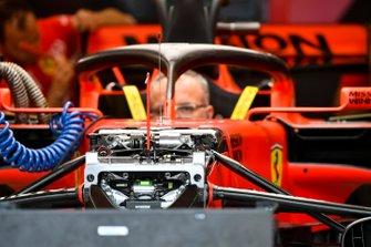 Front suspension of Ferrari SF90