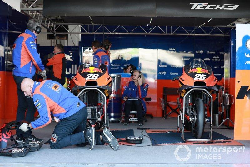 Garagem de Dani Pedrosa, Red Bull KTM Factory Racing