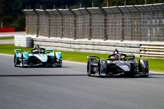 Nico Müller, Dragon Racing, Penske EV-4 Mitch Evans, Jaguar Racing, Jaguar I-Type 4