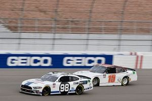 Chase Briscoe, Stewart-Haas Racing, Ford Mustang Ford Performance Racing School, Robby Lyons II, JD Motorsports, Chevrolet Camaro Sunwest Construction