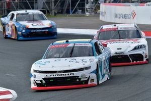 Jeb Burton, Kaulig Racing, Chevrolet Camaro Radiate Next and Harrison Burton, Joe Gibbs Racing, Toyota Supra DEX Imaging