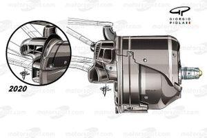 مقارنة مكابح سيارة مرسيدس دبليو12