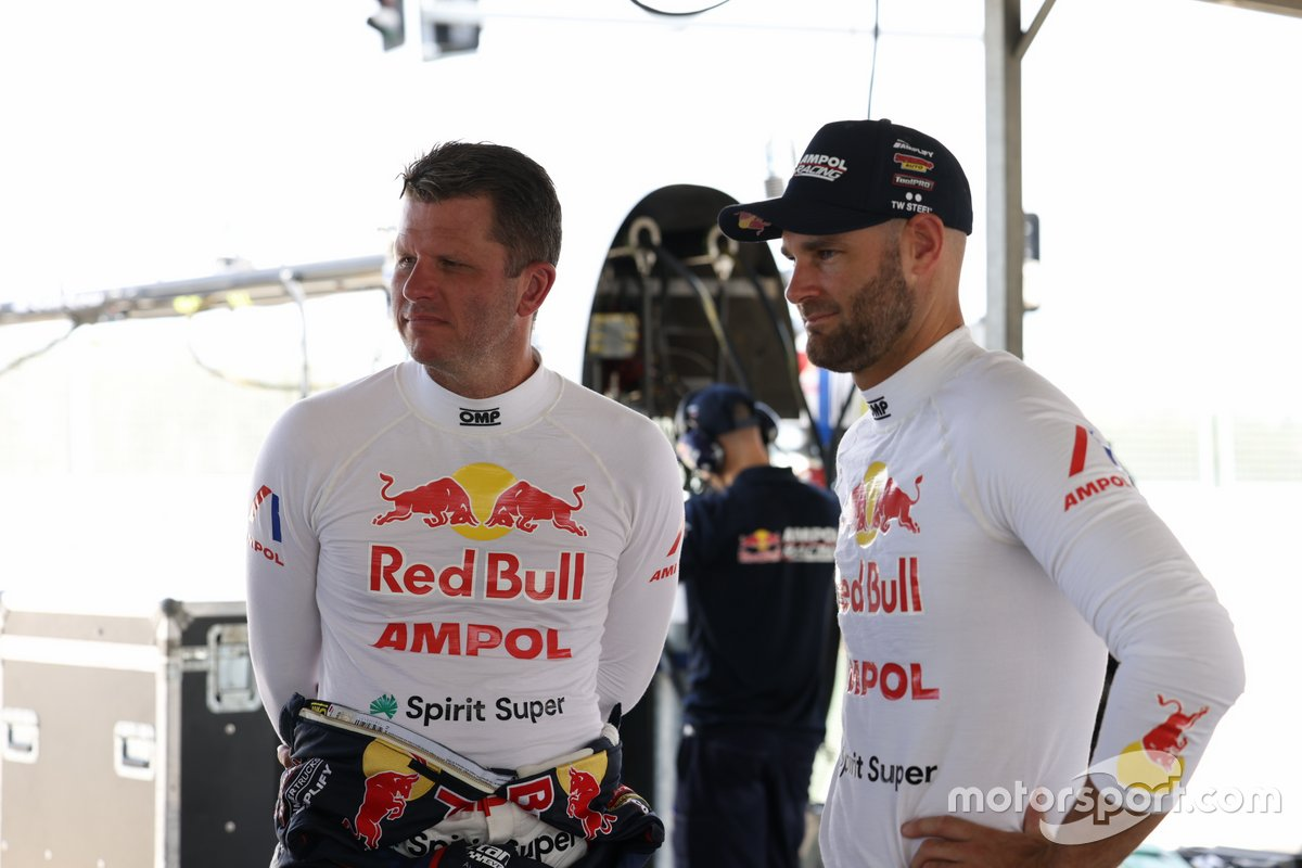 Garth Tander and Shane van Gisbergen, Triple Eight Race Engineering