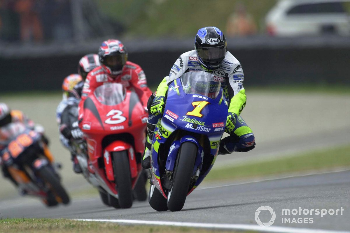 2001: Kenny Roberts Jr., Team Suzuki MotoGP
