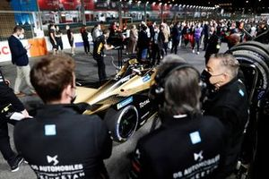 Antonio Felix da Costa, DS Techeetah, DS E-Tense FE20, on the grid with his team