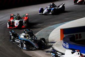 Stoffel Vandoorne, Mercedes Benz EQ, EQ Silver Arrow 02, Lucas Di Grassi, Audi Sport ABT Schaeffler, Audi e-tron FE07, Jake Dennis, BMW I Andretti Motorsport, BMW iFE.21
