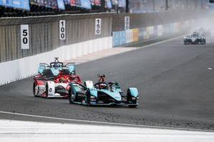 Mitch Evans, Jaguar Racing, Jaguar I-TYPE 5 , Sergio Sette Camara, Dragon Penske Autosport, Penske EV-5, Sam Bird, Jaguar Racing, Jaguar I-TYPE 5
