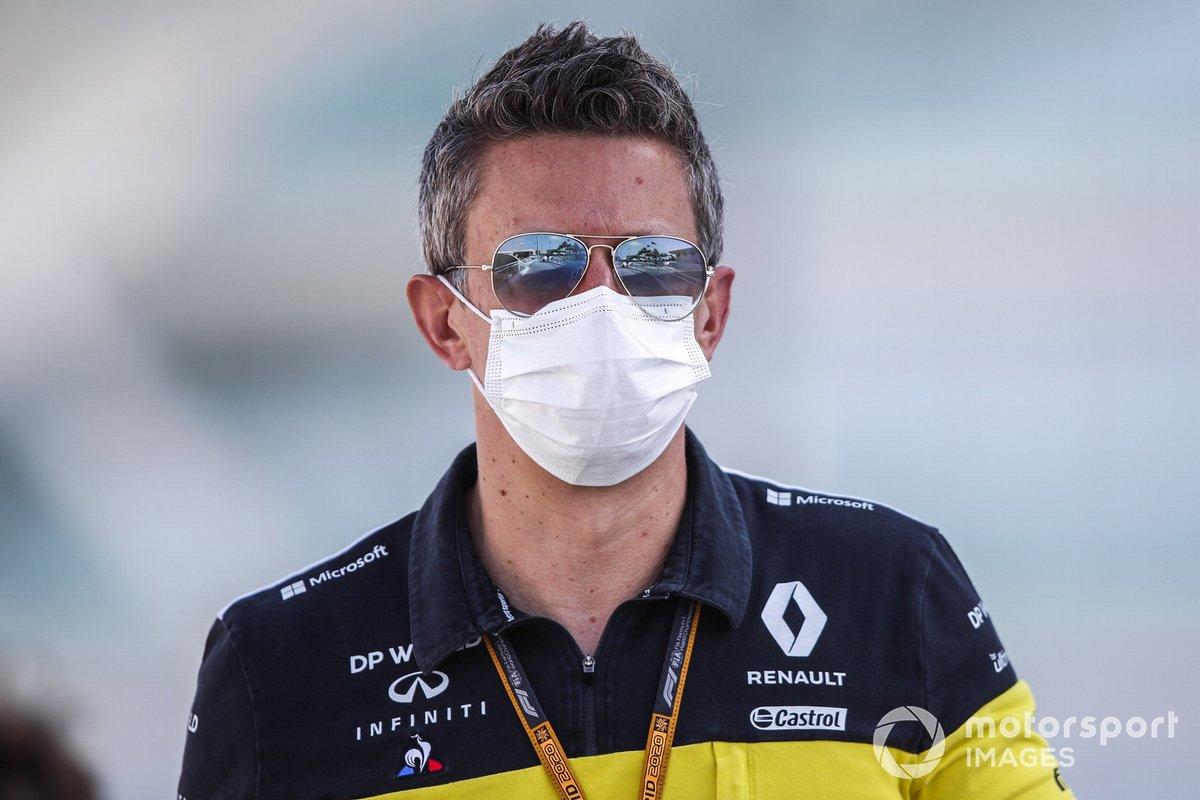 Marcin Budkowski, director ejecutivo de Renault F1 Team