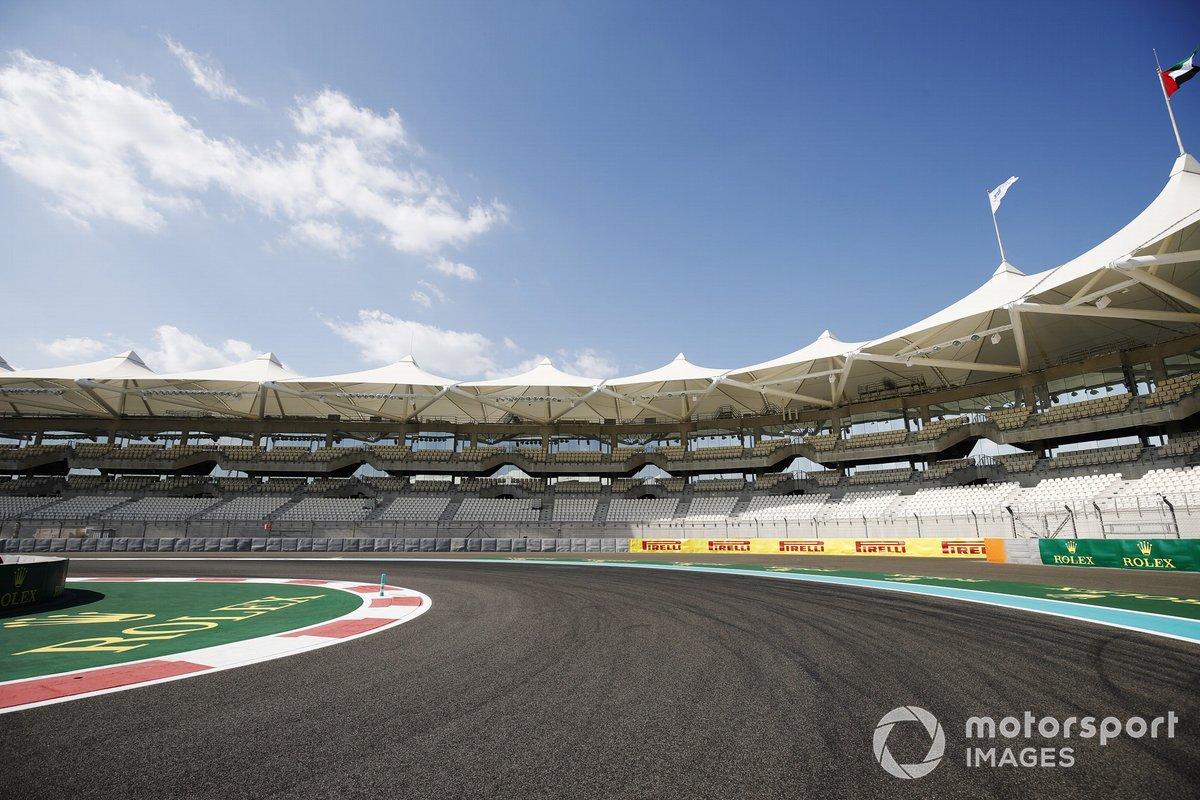 Detalle del circuito de Abu Dhabi