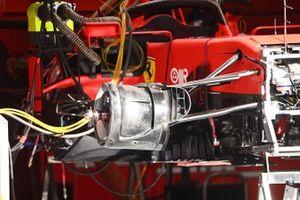 Ferrari SF1000 front brake detail
