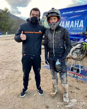 Danilo Petrucci, Glenn Coldenhoff, latihan motocross.
