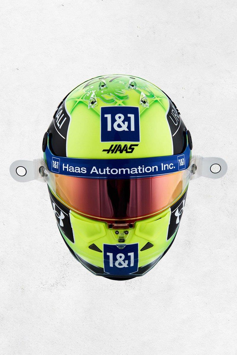 Mick Schumacher, Haas F1's helmet for 2021 season