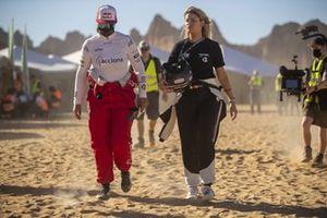 Laia Sanz, Acciona | Sainz XE Team and Christine Giampaoli Zonca, Hispano Suiza Xite Energy Team